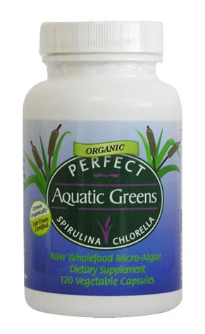 Perfect Aquatic Greens - Organic Spirulina & Chlorella